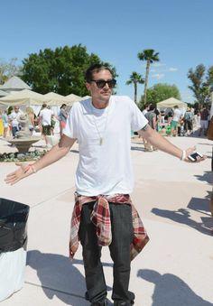 Simon Rex @ the Lacoste L!VE Desert Pool Party in celebration of Coachella. April 13-15 2012. #Coachella