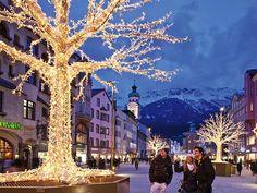 Innsbruck, Austria Christmas market | By GlobalGrasshopper.com - Twitter
