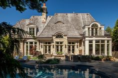 Traditional Exterior Photos French Provincial Design, Pictures, Remodel, Decor and Ideas - page 136
