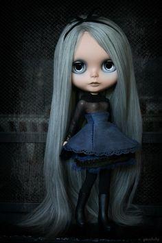 Gothic Blythe Doll