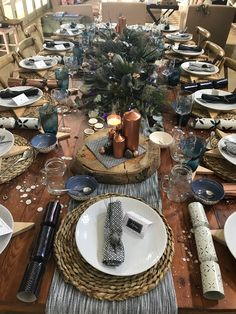 Xmas African table!