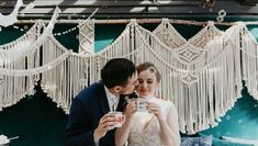 The pop-up chapel is designed to be a hassle-free package, meaning details that a wedding planner would typically handle are taken care of. Written by Vice. Designed by Love by Lynzie. Pop Up, Toronto, Wedding Planner, Handle, Free, Instagram, Wedding Planer, Wedding Planners