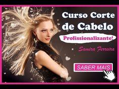 🔴 Curso Corte de Cabelo Profissionalizante   Samira Ferreira