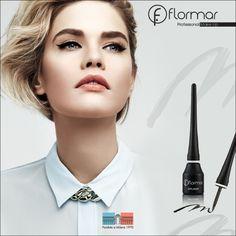 Dale intensidad a tu mirada con nuestros Eyeliner #Flormar