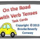 On the Road with Verb Tenses is a task card set that asks students to identify if the verb in the sentence is a present, future, or past tense verb. This task card set would be perfect for a center.     Included in this download: 38 verb tense task cards, a mini direction card, a student recording sheet, and an answer sheet.