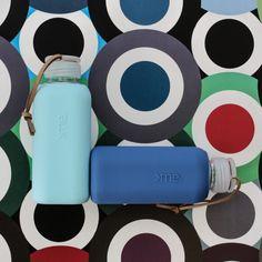 SQUIREME GLASS BOTTLE Y1 SURF BLUE – Kladi Glass Bottles, Surfing, Blue, Surf, Surfs Up, Surfs