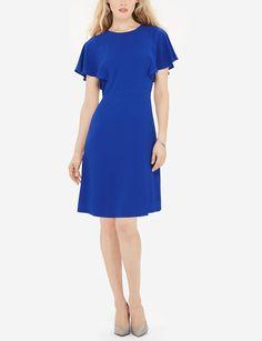 Ruffle Sleeve Dress | A-line Frill Dress | THE LIMITED