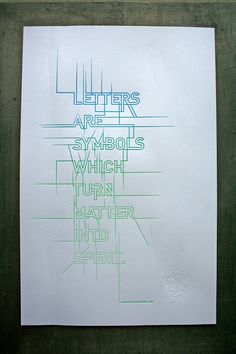 Studio on Fire 'Matter into Spirit' poster