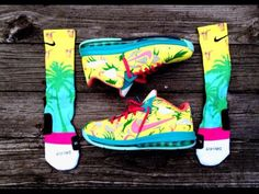 Awesome nikes with matching elites Basketball Sneakers, Running Sneakers, Nike Running, Sneakers Nike, Lebron 9, Nike Workout, Fashion Today, Shoes Outlet, Me Too Shoes