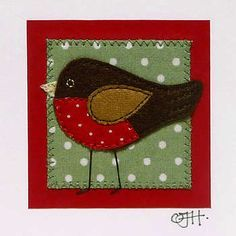 Magic shows include many diverse art forms including illusion, sleight of hand and misdirection. Freehand Machine Embroidery, Free Motion Embroidery, Fabric Cards, Fabric Postcards, Christmas Sewing Projects, Christmas Projects, Vogel Quilt, Christmas Patchwork, Bird Applique