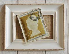 Postage stamp lavender bag, £4.00.  http://fromragstobags.com