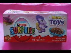 Unboxing A Pack of 3 Kinder Surprise Toys Eggs. Very cute toys inside! Must See #kindersurprisetoys #kindereggs #kindersurprise