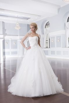 Wedding gown by Lillian West