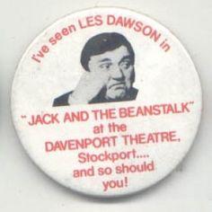 les dawson badge