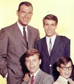 My Three Sons. 1st show touting the idea of No Woman Needed (in the home).
