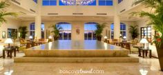 Guests at El Dorado Royale, an all inclusive adults-only resort in the Riviera Maya, Mexico, are greeted with a glass of champagne upon entering this beautiful lobby. #honeymoon #wedding #travel #mexico
