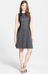 MICHAEL Michael Kors 'Lansdown' Print Sleeveless Panel  Dress