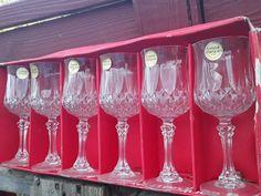 My eBay Active Wine Glass Set, Mason Jar Wine Glass, Drunk Friends, Crystals, Longchamp, Tableware, Ebay, Vintage, Dinnerware