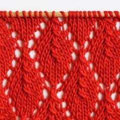 Le point chute de feuilles - Falling leaves stitch — trust the mojo Easy Knitting, Knitting Stitches, Knitting Patterns, Crochet Yarn, Knit Crochet, Seed Stitch, Autumn Leaves, Stitch Patterns, Falling Leaves