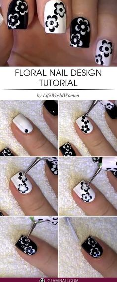 nail art designs easy / nail art designs + nail art + nail art videos + nail art designs for spring + nail art designs easy + nail art designs for winter + nail art diy + nail art designs summer Trendy Nail Art, Cute Nail Art, Nail Art Diy, Cute Nails, Diy Gel Nails, Nail Art Ideas, Nail Art At Home, Diy Nails At Home, Glitter Nails