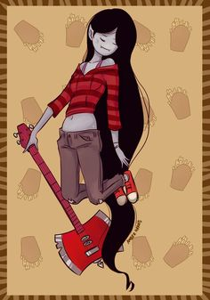 Adventure time: Marceline and her fries