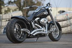 #Thunderbike customized #Harley-Davidson Fat Boy