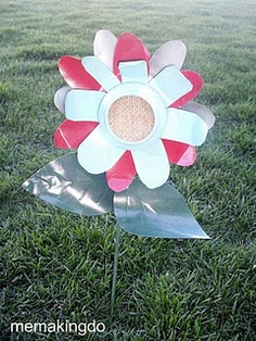 TUTORIAL - tin can flowers