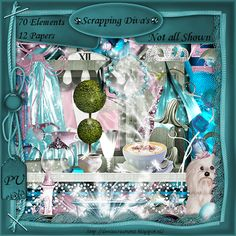 Scrapkit Scrapping Diva's [Denise Creationz] - $2.20 : , Exclusive Scrapping Divas