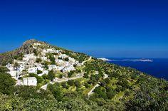 GREECE CHANNEL | Nisyros - Village of Emborio  Greece
