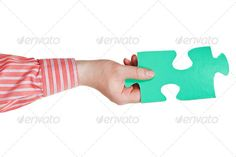 male hand holding big green paper puzzle piece ...  arm, assembling, assembly, attaching, background, business, challenge, complete, completion, concept, conceptual, connect, connecting, connection, connective, cooperation, decision, difficulty, element, fit, fitting, game, green, hand, holding, isolated, jigsaw, join, key, linking, male, man, matching, partnership, piece, playing, problem, puzzle, setting, shirt, sleeve, solution, solve, solving, teamwork, tile, white