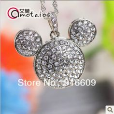 Aliexpress.com : Buy S 78 Free Shipping Wholesale Jewelry Crystal Silver Mickey 2 Color 4GB 8GB 16GB 32GB 64GB USB 2.0 Memory Stick Flash Drive Gift from Reliable flash drive gift suppliers on Coco USB Flash Drive $8.99 - 45.99