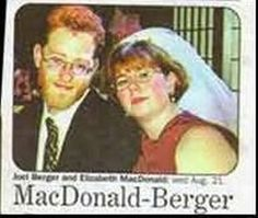 Mr. & Mrs. MacDonald-Berger. | 15 Wedding Announcements From Couples With Deeply Unfortunate Names