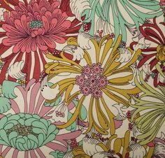 Liberty Art Fabric - Floral Multi Silk
