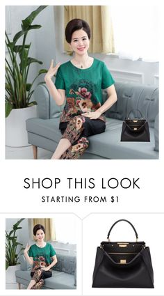 """""""MOM"""" by room140701 on Polyvore featuring Fendi"""