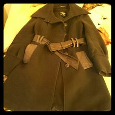 Beautiful Mackage Coat I love this coat but unfortunately it is too small for me now. It is a dark brown with leather accents and buttons. Lightly used. Mackage Jackets & Coats