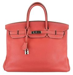 d99f04fbb372 Authentic Hermes Sanguine Birkin Kelly Limited Edition - Togo Leather -  Palladium hardware. - Togo