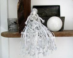 Handmade Selene Luna Moon Goddess Doll. Waldorf style Deity doll. Pagan Wiccan Fertility Intuition