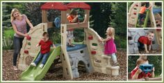 Alpine Ridge Climber Giveaway! http://www.momtobedby8.com/step2-alpine-ridge-climber-and-slide-giveaway/#comment-301757