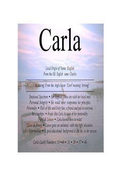 4-11-2015 S.Carlo - Auguri a tutte le donne di nome Carla. Un tempo in Italia era Festa Nazionale. Auguri anche agli uomini di nome Carlo, ma non ho trovato il pin. meaning of carla - Google Search
