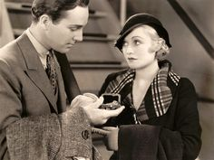 David Manners and Constance Bennett in Lady With a Past, RKO/Pathe Pictures, 1932