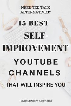 Inspiring Youtube Channels For Self-Improvement | Youtube Channels To Watch | Best Youtube Channels