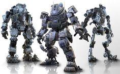 Titanfall - Atlas, Ogre, Stryder