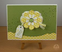 stampin up, card birthday