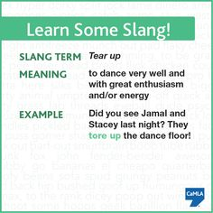 How many of our followers are club-goers and dancers? You need to know this slang term!