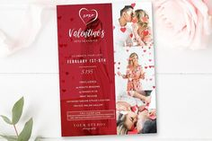 Valentine's Mini Session Template. Flyer Templates. $8.00