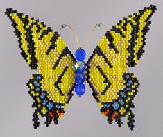 Tiger Swallowtail Butterfly  Pattern and Tutorial