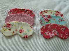 Lovely sleeping/eye mask. by PrettyPastels on Etsy