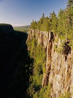 Lake Superior Circle Tour - Ouimet Canyon, just east of my hometown of Thunder Bay ON