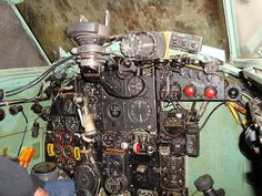 DH Mosquito full instrument panel
