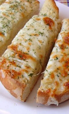 Easy Garlic Cheese Bread you should try.. More ideas follow us @easylifetricks